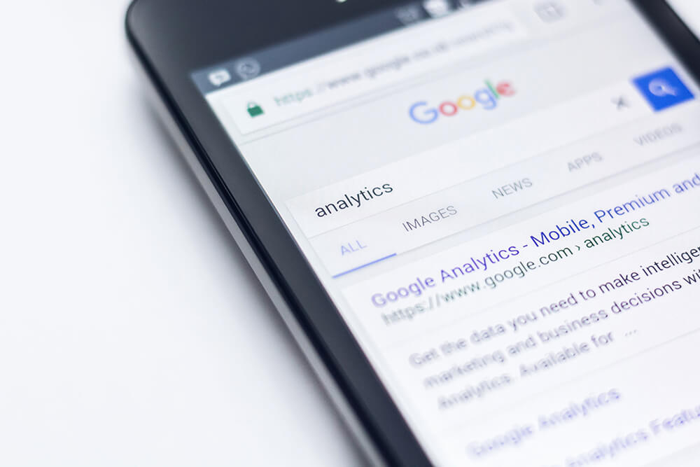 Búsqueda de palabras clave en Google